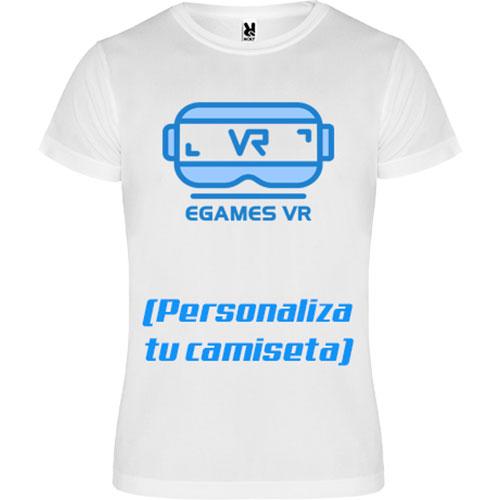 camiseta personalizada ISH egames vr