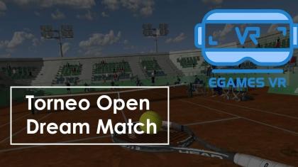 Torneo Open Dream Match miniatura Tennis eGames VR