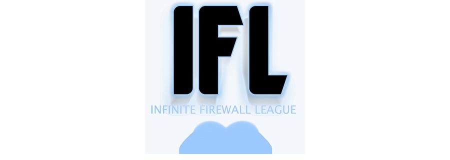 Infinite Firewall Zero Hour League (IFL) eGamesVR logo 1
