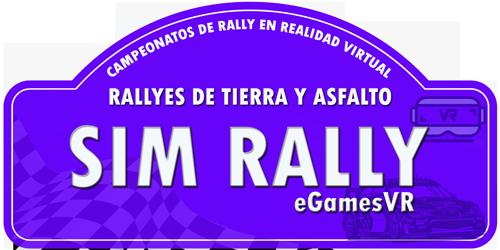 LOGO SIM RALLY EGAMES VR