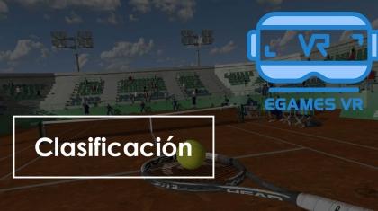 ODMT Open Dream Macth Tennis eGamesVR clasifiacion