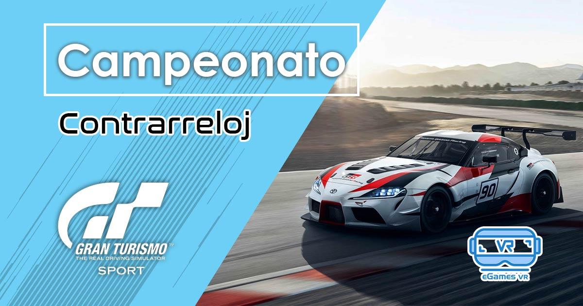 Campeonato Gran Turismo Sport VR Contrarreloj cartel facebook.jpg